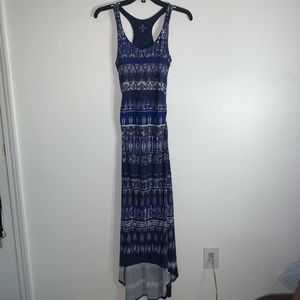 Athleta Fitted Maxi Dress